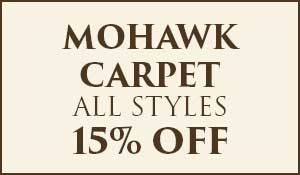 15% off Mohawk Smartstrand and Smartstrand Silk Carpet during our flooring sale