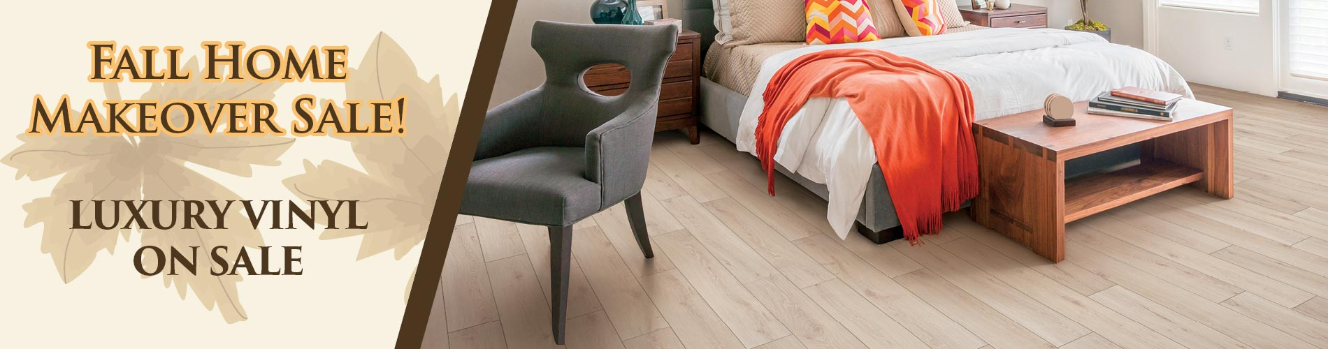 Save on Luxury Vinyl flooring during our sale