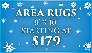 New Year New Floor Area rugs on sale. 8'x10' starting at $179