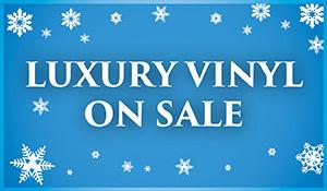 New Year New Floor luxury vinyl on sale